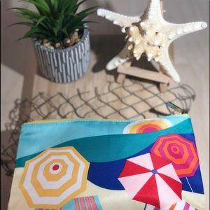 Clinique ~ Beach Theme Cosmetic Bag